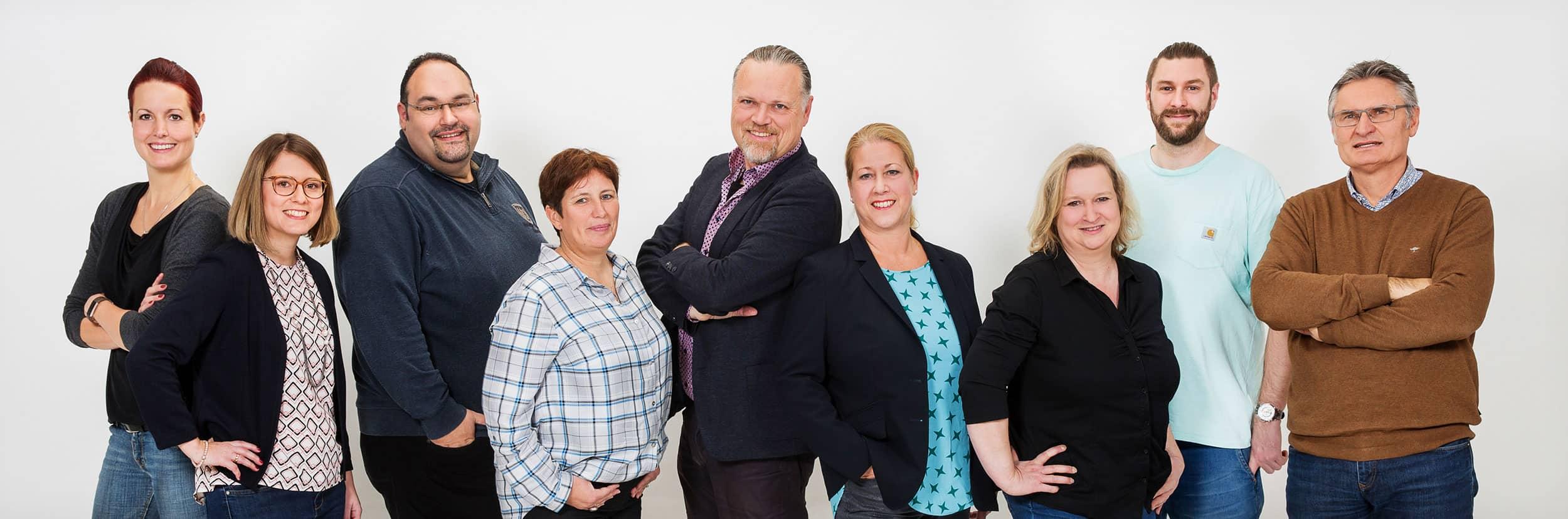 Über uns - Teamfoto der Simplex AG